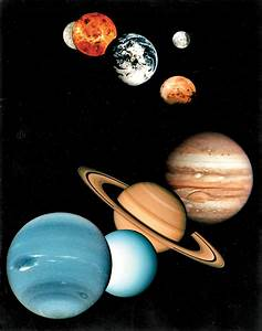 Compared to Planets Their Moons - Pics about space