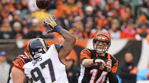 bengals  london game  rams bye week revealed
