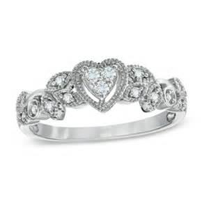 Vintage Diamond Promise Rings