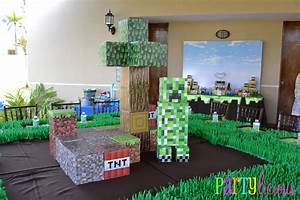Minecraft Party! All for the Boys