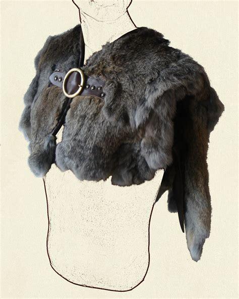Solid Grey Rug by Fur Mantle