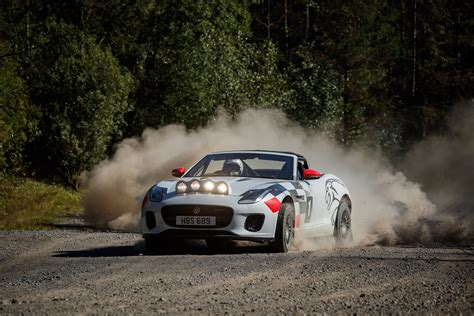 Jaguar Builds F-type Rally Car As Part Of 70 Years Of
