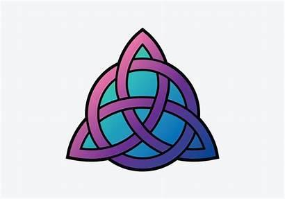 Triquetra Symbol Vector Clipart Vectors Wiccan Vecteezy