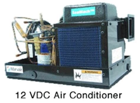 12 Volt Boat Air Conditioner by Masters Inc Marine Engine Controls Bow