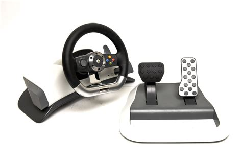 Xbox 360 Steering Wheel by Microsoft Xbox 360 Wireless Steering Wheel Review Start