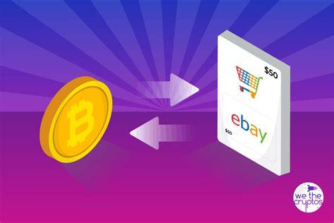 Molte persone sono preoccupate che l'economia americana. How to Buy Bitcoin Using an eBay Gift Card   We The Cryptos