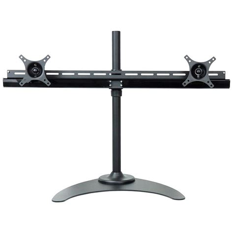 dyconn de9e2s s dual tv monitor desk mount stand equal b h