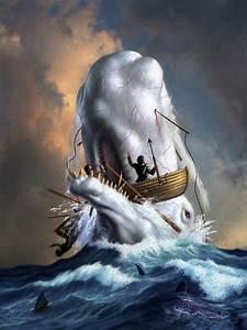 Moby Dick 1 Digital Art by Jerry LoFaro