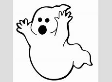 Big Ghost Coloring Page & Coloring Book