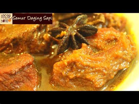 resep makanan semur daging sapi youtube