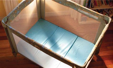mattress for pack n play pack n play mattress mamadoo baby finally sleeps