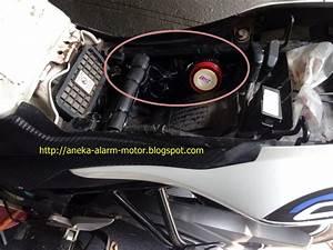 Aneka Alarm Motor  Cara Pasang Alarm Motor Remote Pada Honda Cb150r Old