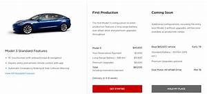 First Look At Tesla Model 3 Canadian Configurator With Price Structure And Availability