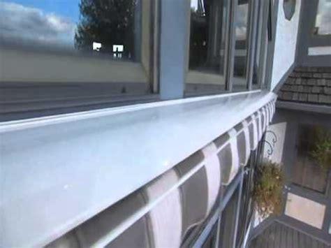 sunsetter protective aluminum hood youtube