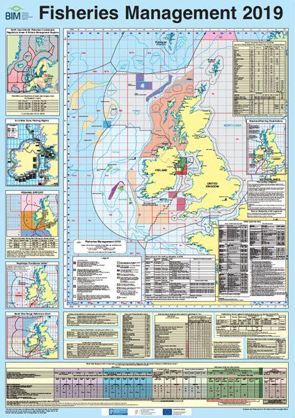 ireland fisheries management chart  la tene maps