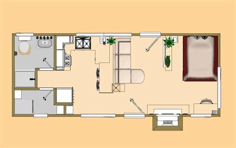 Floor Plan Of The 360 Sq Ft