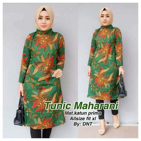 jual baju batik muslim gamis batik terbaru baju