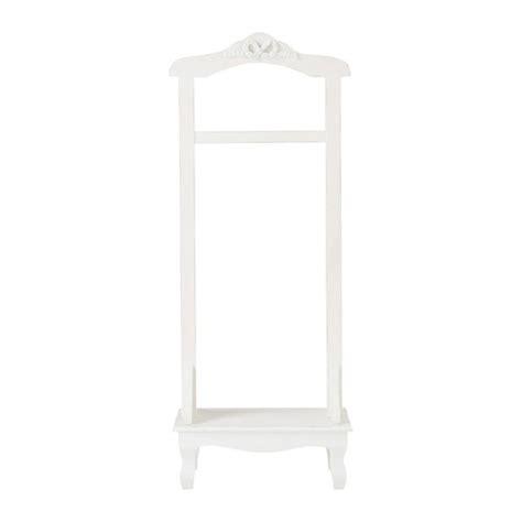 valet de chambre maison du monde valet de chambre en bois blanc