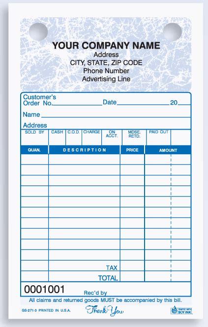 small register receipt invoice design template