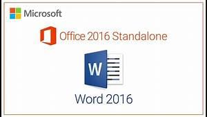 Word 2016 Standalone Promo Code