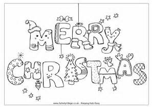 coloring pages merry