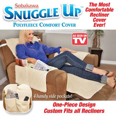 Snuggle Up Fleece Chair Comfort Cover From Collections Etc