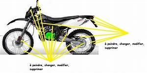 Peinture Anodisé : tuning de la partie cycle de sa m caboite 50cc mecacustom ~ Gottalentnigeria.com Avis de Voitures