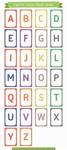 free printable capital letter flash cards download them With capital letter flashcards