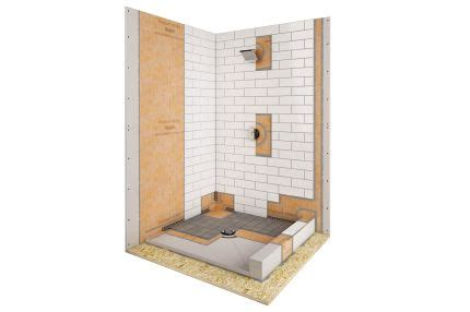 schluter kerdi shower kit shower tub kits shower