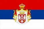 Ww1 Serbia Flag