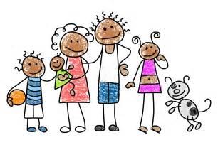 Stick Figure Family Clip Art