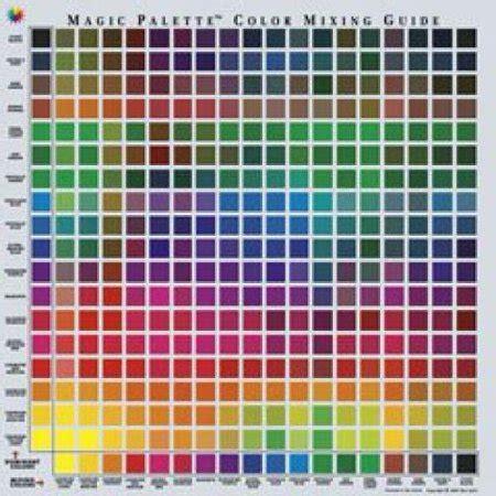 magic palette personal color mixing guide walmart com
