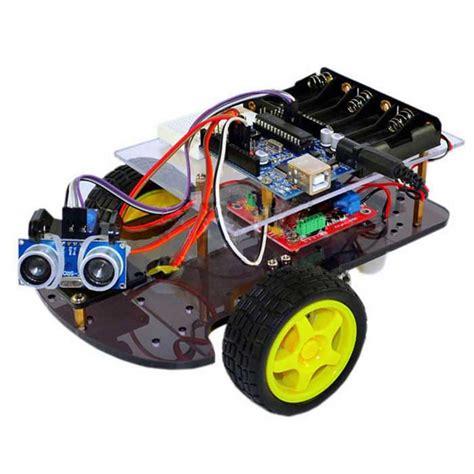 ultrasonic smart wheel robot car kits for arduino