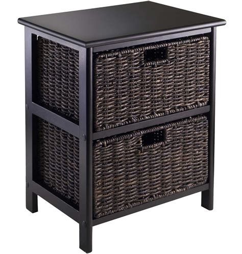 storage bookcase with baskets omaha storage rack with two baskets in shelves with baskets