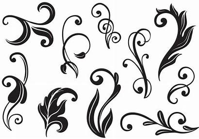 Flourishes Flourish Vectors Swirls Svg Clipart Ii