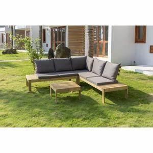 Canape De Jardin En Bois : canape bois exterieur achat vente pas cher ~ Dallasstarsshop.com Idées de Décoration