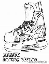 Hockey Ice Drawings Skate Coloring Skates Nhl Drawing Skating Boys Helmet Sketch Sheets Template Moncler Lyže Nastenky šport Obrazkov Najlepšich sketch template