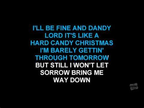hard candy christmas   style  dolly parton karaoke