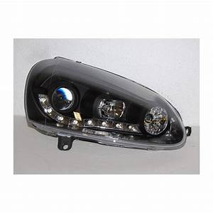 Golf 5 Noir : phare avant lumi re de jour volkswagen golf 5 noir convert cars ~ Medecine-chirurgie-esthetiques.com Avis de Voitures