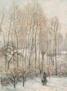 Eragny Art De Vivre : file camille pissarro morning sunlight on the snow ~ Dailycaller-alerts.com Idées de Décoration