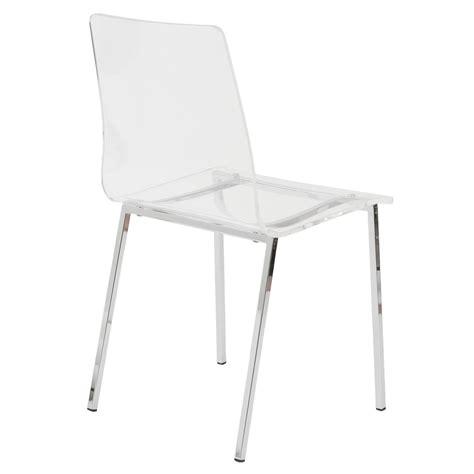 Sia Contemporary Acrylic Side Chair 4piece Set Zuri