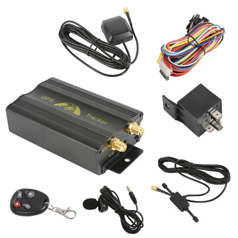hot mini gsm sms vehicle car gps tracker tracking device