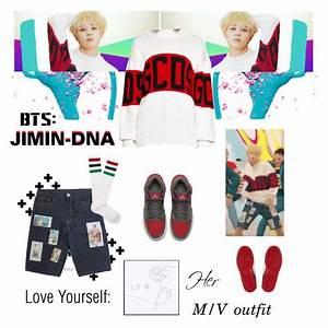 BTS JIMIN u0026quot;DNAu0026quot; M/V Outfit | Pinterest | Vu00eatements