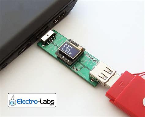 diy usb line power meter stick electronics lab