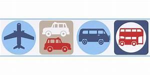Tapeten Bordüre Weiß : tapeten bord re kinder autos flugzeug wei blau as 8957 14 ~ Orissabook.com Haus und Dekorationen