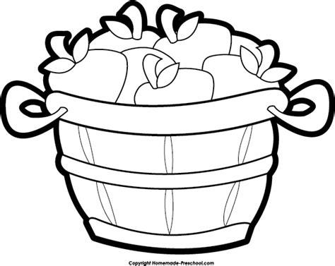 apple basket clipart clipartioncom