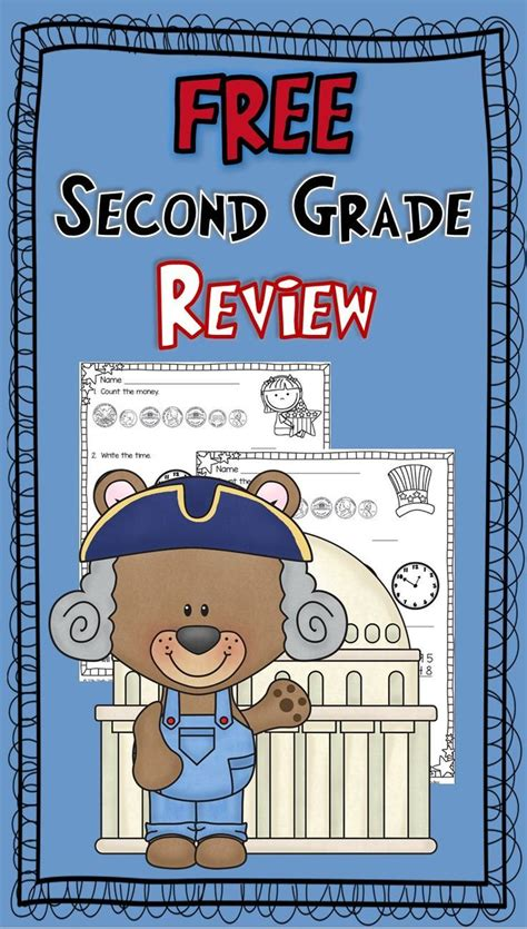 Free Math For 2nd Gradecounting Money, Telling Time, 3digit Addition & Subtraction