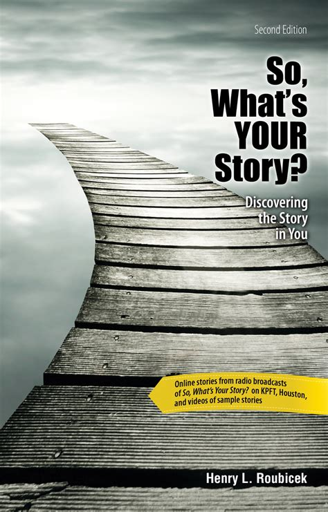 So, What's Your Story? Discovering the Story in You | Higher Education