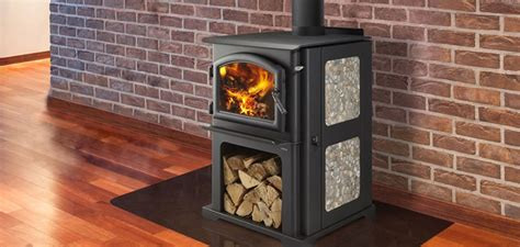 stove wood stoves burning discovery fire quadra floor fireplaces heat rated tile ceramic quadrafire radiant series system side room brief