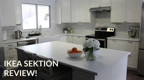 Ikea Sektion Kitchen Review!  Diy Youtube